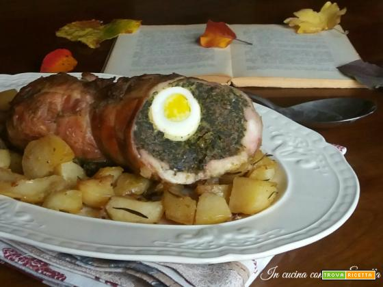 Coniglio arrotolato al forno – Ricetta secondo di Natale e delle feste