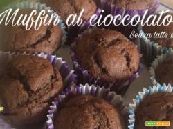 Muffin al cioccolato – senza latte e uova