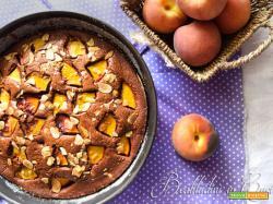 Torta cioccolato e pesche Bimby