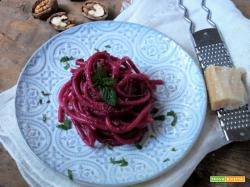 BUCATINI AL PESTO DI RAPE ROSSE