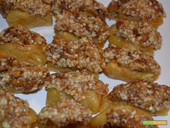 Biscotti morbidi al miele farciti