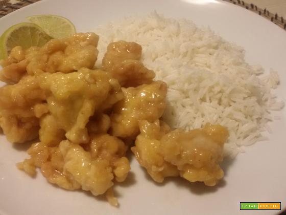 Pollo fritto al limone (ricetta tipica cinese)