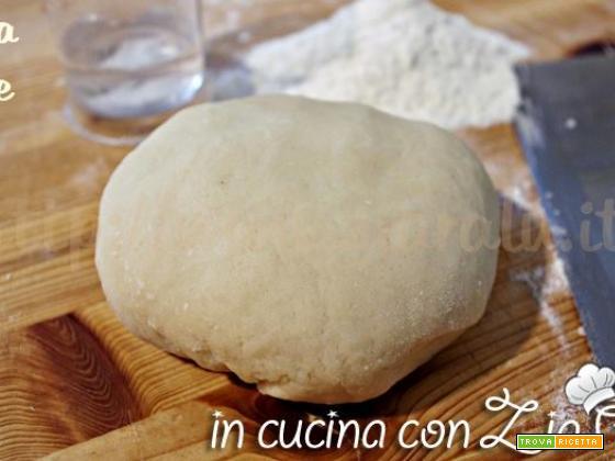 Pasta brisée – ricetta base per torte salate