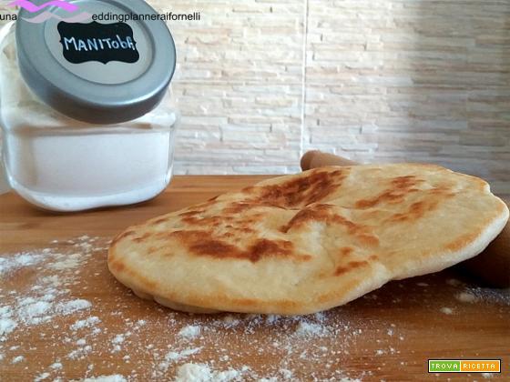 Pane pita – con e senza Bimby