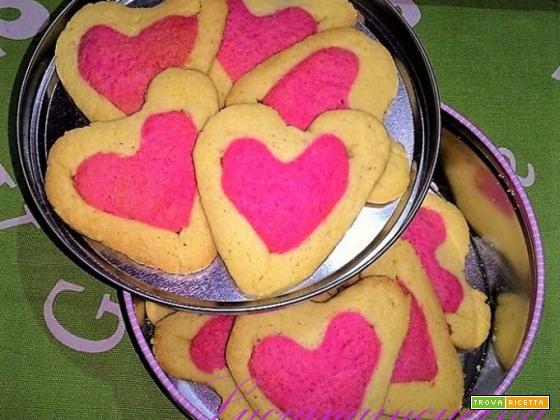 Biscotti di San Valentino... una colazione d' Amore