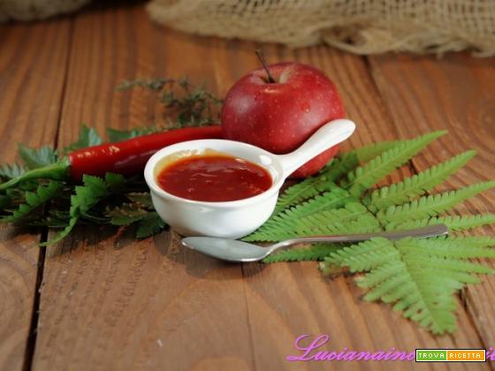 Confettura di mele e peperoncino