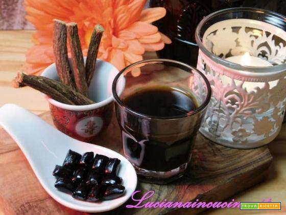 Digestivo alla menta e liquirizia