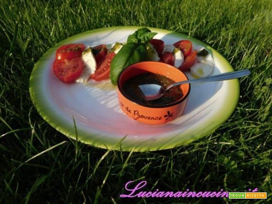 Millefoglie di mozzarella e pomodoro...voglia d'estate