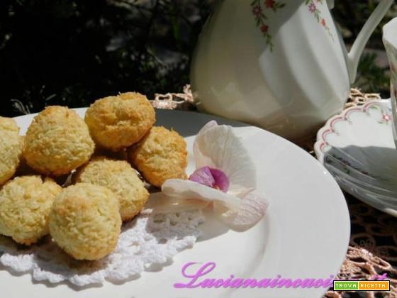 Palline al sapore di cocco e lime...