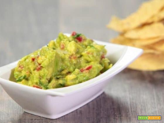 Salsa Guacamole per Tex Mex
