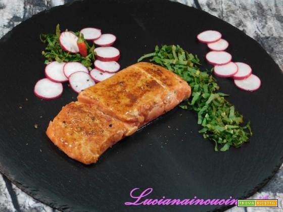Sweet and Smoky Sous Vide Salmon