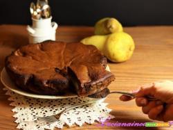 Torta cacao e pere tutta salute