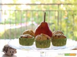 Muffin cioccolato e pere: è arrivato il freschino!