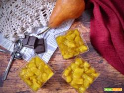 Mousse al cioccolato fondente e pere