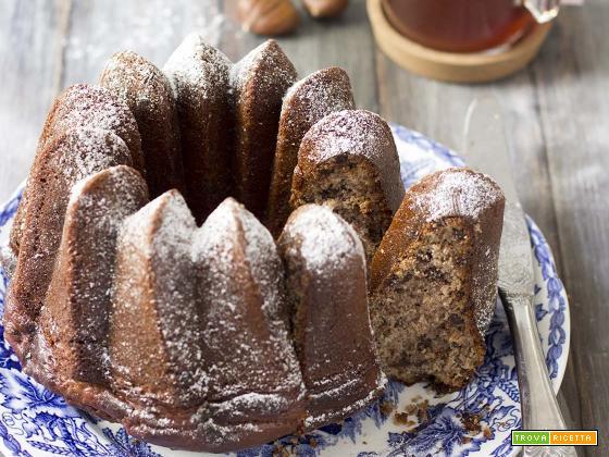 Torta con farina di castagne, mascarpone e cioccolato