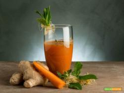 Colazione sana con estratto di carota e Camu Camu