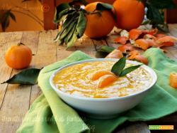 Crema di mandarino senza latte e uova