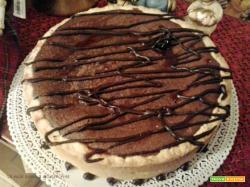 Crostata frangipane al cioccolato e amarene senza glutine