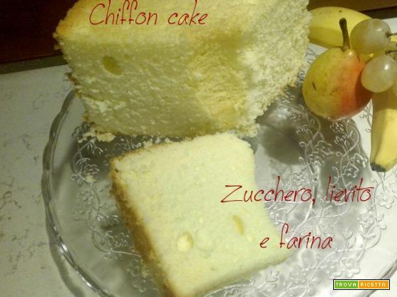 Chiffon cake – Ciambellone americano