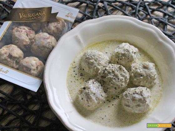 Mini canederli alla crema di ricotta e olive