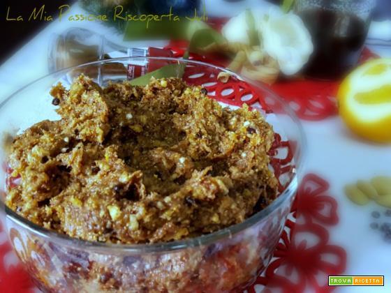 Condimento fichi secchi per biscotti siciliani