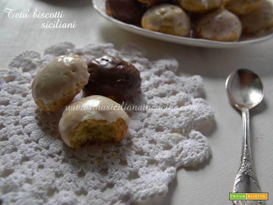 Tetù biscotti siciliani tradizionali