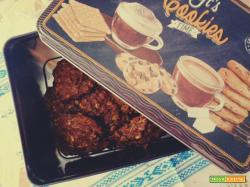 Biscotti avena, cacao e uvetta senza burro