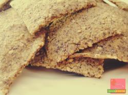 Crackers senza glutine e senza lievito