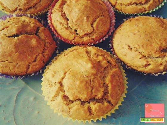 Muffin salati integrali senza uova