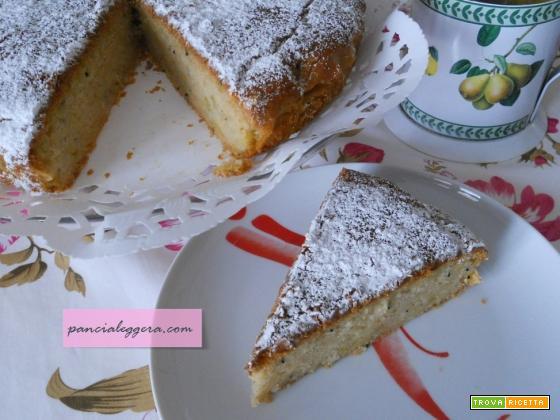 Torta di kiwi aromatizzata limone e zenzero