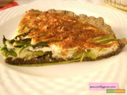 Torta salata con asparagi senza glutine