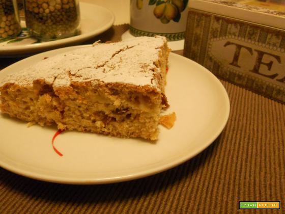 La torta veloce e light con le mele