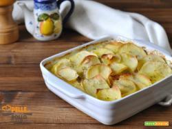 Tortino di salmone e patate al forno