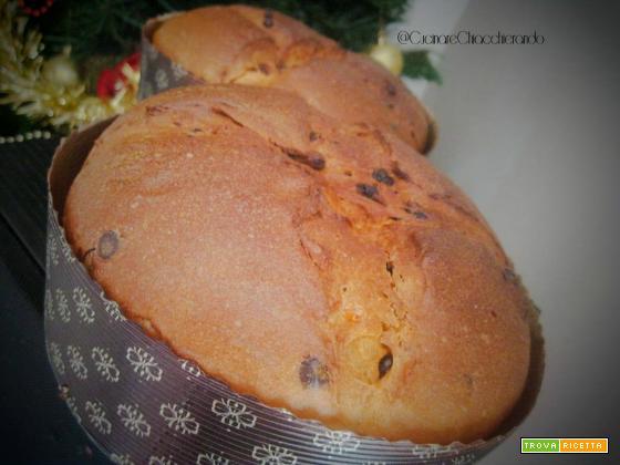 Panettone fatto in casa ricetta L. Di Carlo