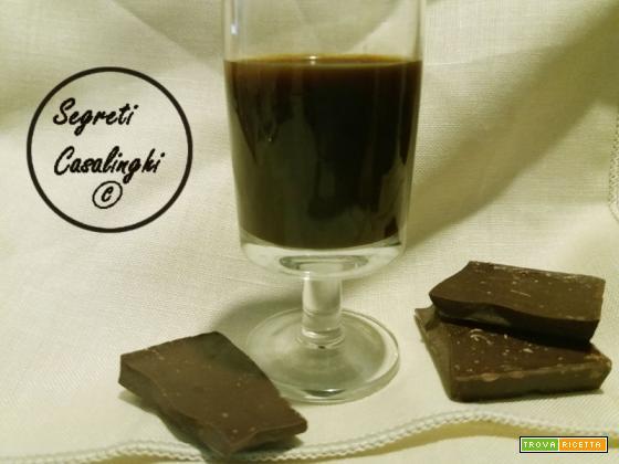 liquore cioccolato fondente
