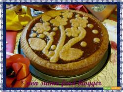Crostata alla marmellata con Pasta Frolla Integrale all'Olio