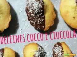 Madeleines al cocco e cioccolato fondente o come gestire lo stress