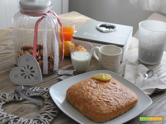 Torta paradiso con limone e miele