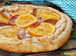 Galette arancia e caco