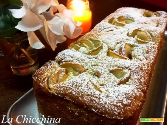 Plumcake con rose di mela