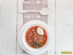 Zuppa di farro, rape rosse e...| Zuppe e minestre