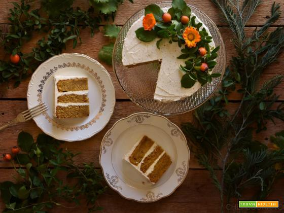 Torta di Zucca e Spezie