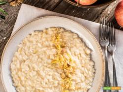 RISOTTO alle MELE e SEDANO RAPA con NOCI – Vegan Waldorf Risotto