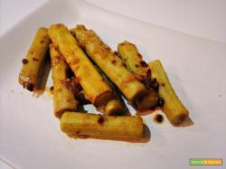 Gambi di carciofi con aglio e limone