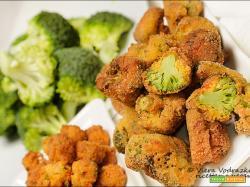 Bocconcini di soia e broccoli indiavolati