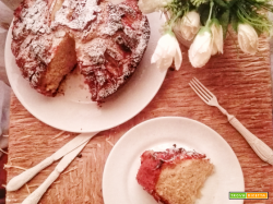 Eplekake, la torta di mele norvegese