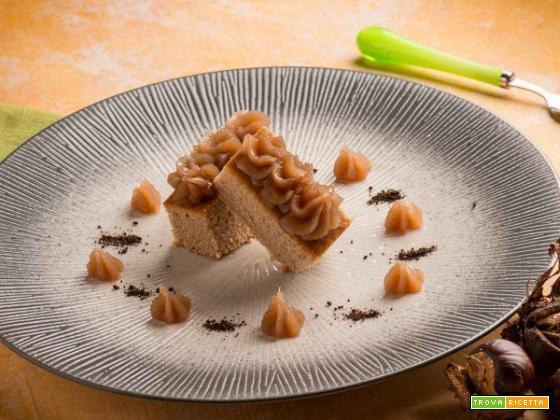Torta di castagne con crema di marroni: un mix di gusto unico