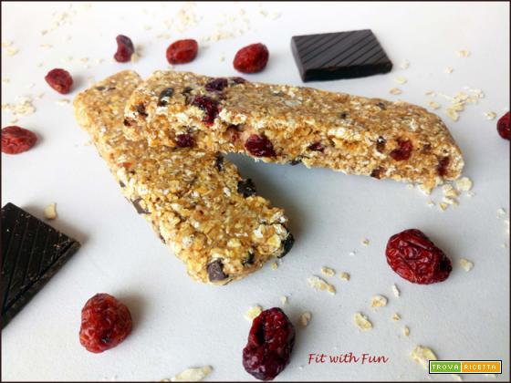 Barrette Proteiche e Low Fat senza Cottura al Cookie Dough