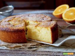Torta Cremosa all'Arancia