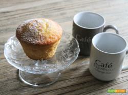 Muffin con limone e miele di acacia
